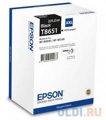 <b>Картридж Epson</b> C13T865140 для <b>Epson</b> WF-M5xxx черный ...