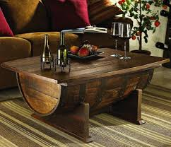 link diypete com build whiskey barrel coffee table