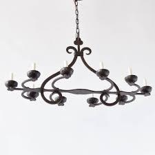 vintage iron chandelier from belgium 2 000