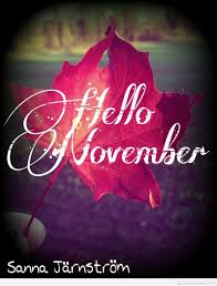 Hello November Images Quotes