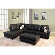 star home living black faux leather 3