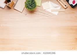 wooden desk top view.  View Topview Of Wooden Desk With Office Tools And Plant Mock Up Throughout Wooden Desk Top View