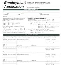 Simple Application Template Job Application Template Word Simple Form Basic Printable