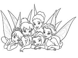 Small Picture Picture of Beautiful Disney Fairies Coloring Page Download