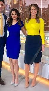 Aishah Hasnie & Jillian Mele | Aishah hasnie, Hot dress, Female news anchors
