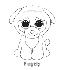 Ty Beanie Boos Coloring Pages Get Coloring Pages