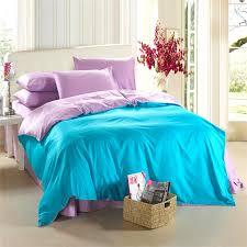 Aqua blue purple lilac bedding set King size queen quilt doona ... & Aqua blue purple lilac bedding set King size queen quilt doona duvet cover  bed sheet double Adamdwight.com