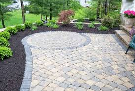 how to lay patio pavers on dirt easy