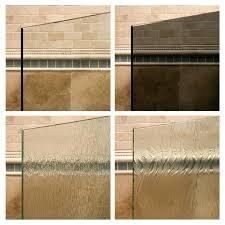 various showers doors glass shower door glass delta shower door glass thickness