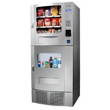 Vending Machines Combo Classy Seaga SM48 Snak Mart Automatic Snack Drink Combo Vending Machine