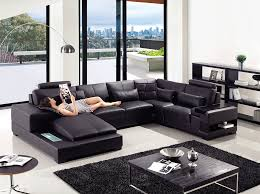 modern leather living room furniture. Image 1 Modern Leather Living Room Furniture F
