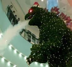 Godzilla Christmas Tree | The Worley Gig