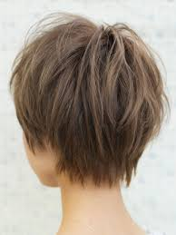 髪型カジュアル毛束感ショートヘアyr 395 Hair Cut ヘア