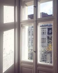 Winterdeko Altbauliebe Hygge Fensterdeko Kreide