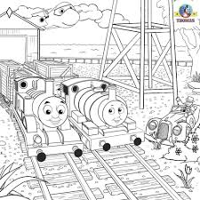 Thomas And Friends Coloring Page High Quality Pages Percy