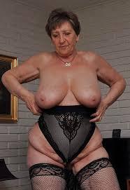 Granny Big Tits Sexy Missis Photo