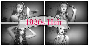 1920 Hair Style 1920s hairstyle for long hair youtube 8850 by wearticles.com