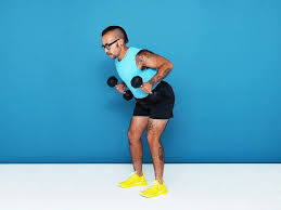 an upper body workout for people with
