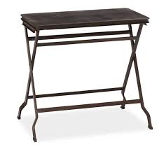 Tray Table Carter Metal Folding Tray Table Pottery Barn Au