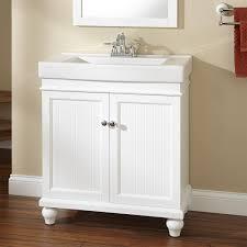 Unique White Bathroom Storage Cabinets Signature Hardware Intended Models Design