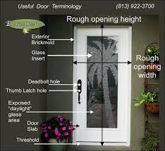 standard prehung door sizes etched
