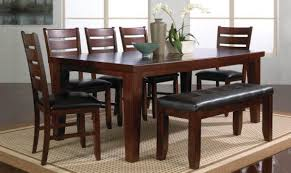 dark wood dining tables and 6 chairs dining room ideas