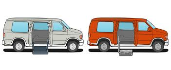 wheelchair lift for van. Full Size Conversion Van And Wheelchair Lift Options For