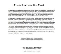 New Product Introduction Letter Template