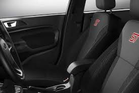 2017 fiesta st with charcoal black cloth seats