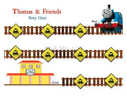 Thomas The Tank Engine Toilet Training Chart Thomas And Friends Printable Potty Chart Potty Training By