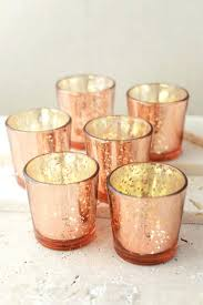 le votive candle holders best mercury glass ideas on rose gold orange roses cabbage candles tealight