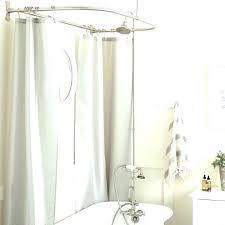 clawfoot bathtub shower shower bathtub shower enclosure bathtub clawfoot bathtub shower curtain rod