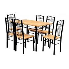 Table 6 Chaises Cuisine Salon Maja Achatvente Table Salle A