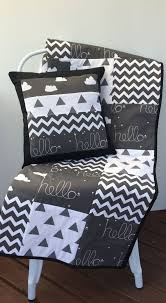 Best 25+ Cot quilt ideas on Pinterest | Baby quilt patterns ... & Genuine modern patchwork quilt to fit a standard size cot / crib, but  because of Adamdwight.com