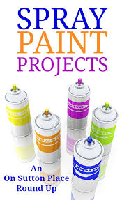 easy spray paint projects crafts ideas and inspiration from 10 diy bloggers tutorials