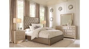 sofia vergara paris gray 5 pc queen bedroom