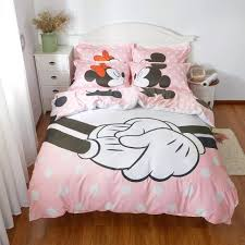 Good Friends Mickey and Minnie Queen Size Bedding Sets -Twin Full Queen  Bedding -Mickey Mouse Bedding Sets