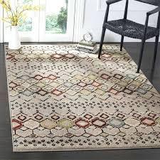 birney striped gray 6x9 rug viscose area elegant modern geometric grey 7 5 o diamond trellis