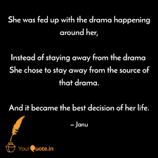She Was Fed Up With The D Quotes Writings By Jhansi Janu