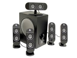 logitech computer speakers. logitech x-530 70 watts rms 5.1 black speaker system computer speakers
