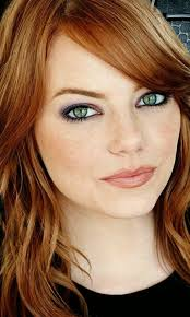emma stone beautiful makeup