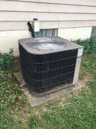 lennox ac compressor. maryville, il - lennox ac with ceased up compressor. no air conditioning. house ac compressor
