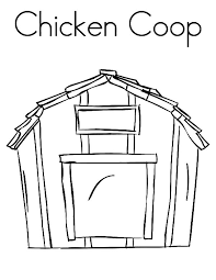 Small Picture C is for Chicken Coop Coloring Pages NetArt
