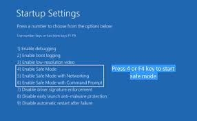 windows 10 safe mode how to boot into safe mode in windows 10