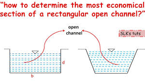 Open Channel Design How To Design Or Determine The Size Of Rectangular Open Channel