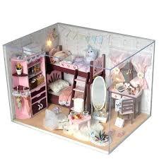 handmade dolls house furniture. Handmade Doll Houses House Furniture Miniature Dollhouse Wooden Toys For Children Birthday Dolls