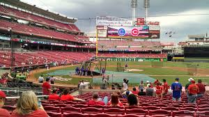 great american ballpark seating chart rows cincinnati reds seating chart with seat numbers