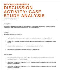 Case Study Template 8 Case Analysis Templates Word Pdf Pages Free Premium Templates