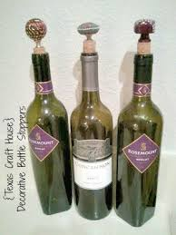 How To Make Decorative Wine Bottle Stoppers Drawer Pulls as Decorative Bottle Stoppers Texas Craft House 25