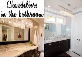 chandelier bathroom lighting. update your bathroom with a chandelier lighting m